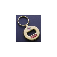 Arizona Cardinals Gold EZ Bottle Opener Keychain