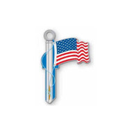 US Flag Schlage SC1 House Key