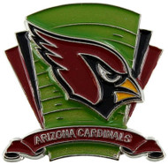 Arizona Cardinals Logo Field Lapel Pin