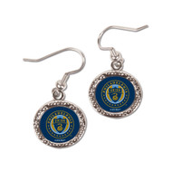 Philadelphia Union Round Earrings