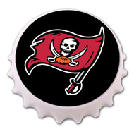 Tampa Bay Buccaneers Bottle Cap Magnet Bottle Opener