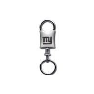 New York Giants Laser Etched Valet Keychain