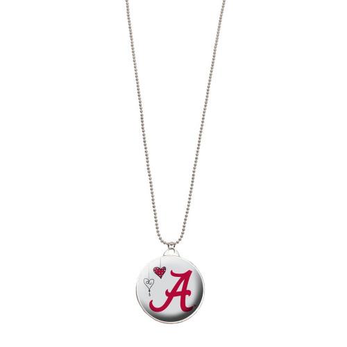 University of Alabama Double Dome Necklace