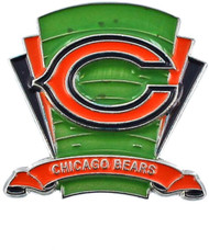 Chicago Bears Logo Field Lapel Pin