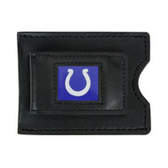 Indianapolis Colts Leather Money Clip and Card Case