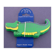 Magnetic Wooden Crocodile Magnet by The Toy Workshop