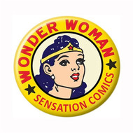 "Wonder Woman Sensation Comics 3"" Button"