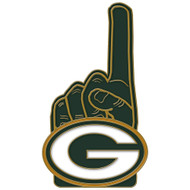 Green Bay Packers Number One Cloisonne Pin