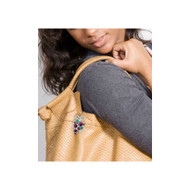 Finders Key Purse Butterscotch Key Chain
