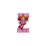 Self Adhesive Wooden Fairy Letter Z by The Toy Workshop