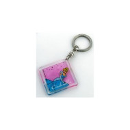 Cinderella Etched Lucite Key Chain