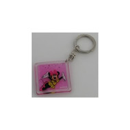 Minnie Mouse Lucite Key Chain