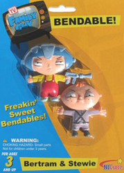 Family Guy Bertram and Stewie Freakin' Sweet Bendables