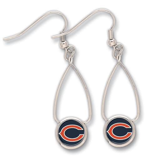 Chicago Bears French Loop Earrings