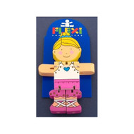 Wooden Ballerina Flexi Character by The Toy Workshop