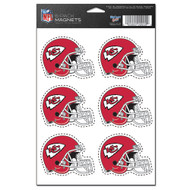 Kansas City Chiefs 6-Pack Magnet Set