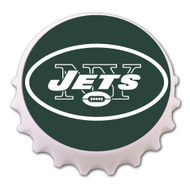 New York Jets Bottle Cap Magnet Bottle Opener