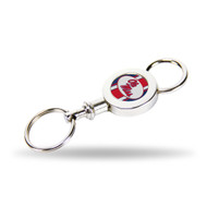 University of Mississippi Quick Release Valet Keychain