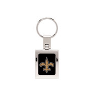 New Orleans Saints Domed Metal Key Chain