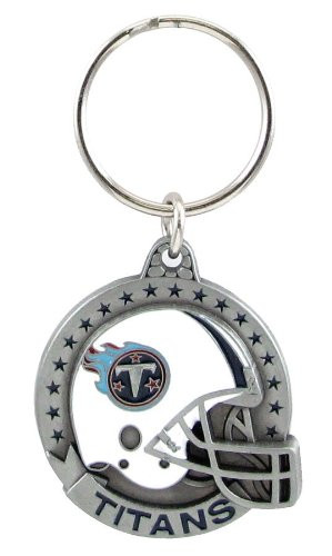 Tennessee Titans Pewter Keychain