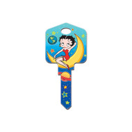 Betty Boop Out of This World Schlage SC1 House Key