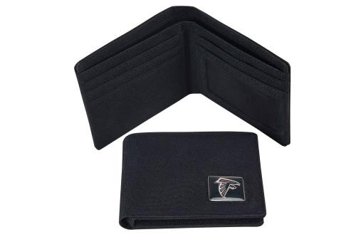 Atlanta Falcons Nylon RFID Travel Wallet