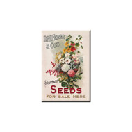 D.M. Ferry & Co's Seeds For Sale Refrigerator Magnet