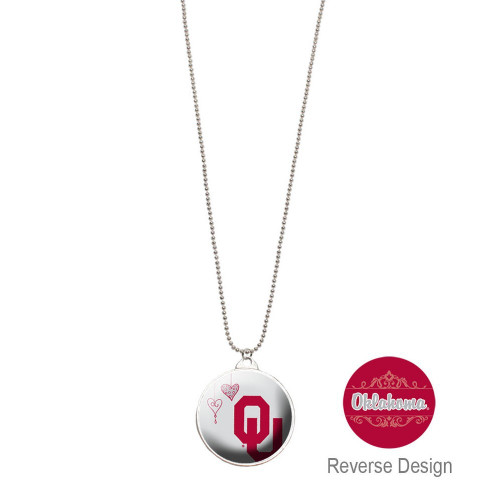 University Of Oklahoma Double Dome Necklace