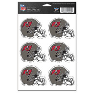 Tampa Bay Buccaneers 6-Pack Magnet Set