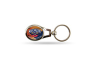 New Orleans Pelicans Oval Keychain