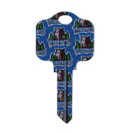 Minnesota Timberwolves Schlage SC1 House Key
