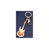 High School Musical Pewter Guitar Keychain