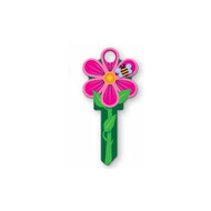 Flower Bee Kwikset KW1 House Key