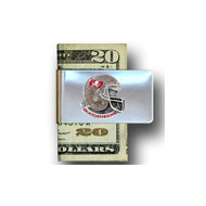 Tampa Bay Buccaneers Pewter Emblem Money Clip