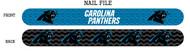 Carolina Panthers Nail File