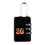 Cincinnati Bengals Luggage Security Lock TSA Approved