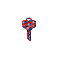 Detroit Pistons Schlage SC1 House Key