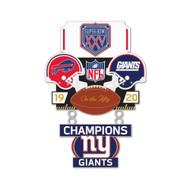 Super Bowl XXV (25) Bills vs. Giants Champion Lapel Pin