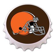 Cleveland Browns Bottle Cap Magnet Bottle Opener