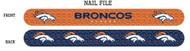 Denver Broncos Nail File