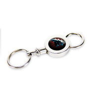 Carolina Panthers Quick Release Valet Keychain