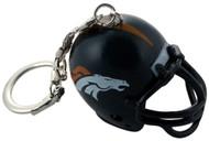 Denver Broncos Helmet Keychain