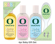 University of Oregon 4pc Baby Gift Set