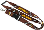 Washington Redskins Football Laces Lanyard