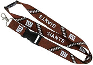 New York Giants Football Laces Lanyard