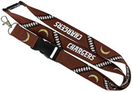 San Diego Chargers Football Laces Lanyard
