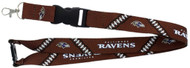 Baltimore Ravens Football Laces Lanyard