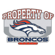 Denver Broncos Property Of Cloisonne Pin