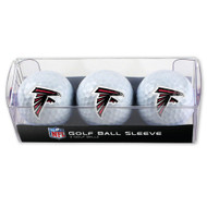 Atlanta Falcons Golf Balls - 3 pc sleeve