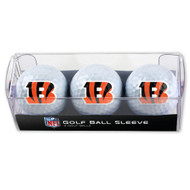 Cincinnati Bengals Golf Balls - 3 pc sleeve